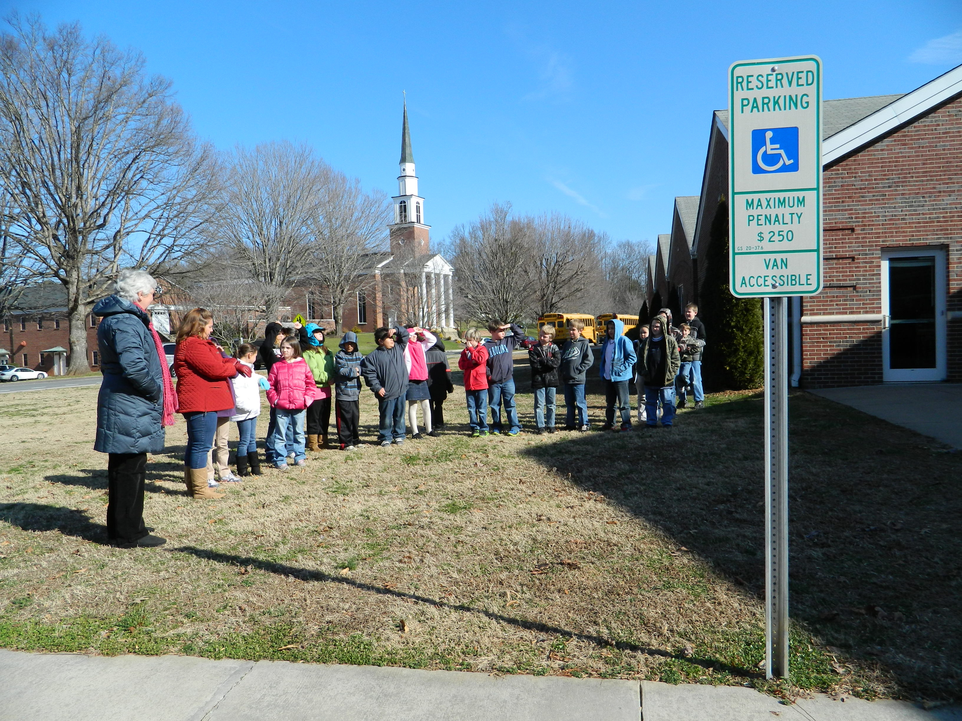 """Quilt Block Installed On Marion Elementary School – """"Hands All ..."""